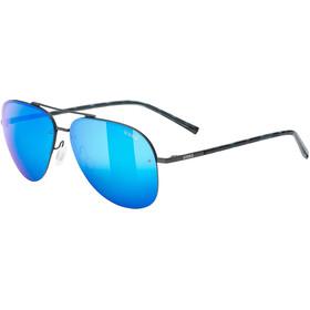 UVEX LGL 40 Lunettes, gun mat/mirror blue